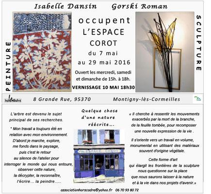 2016 - « Dansin - Gorski » Espace Corot, Montigny-Les-Cormeilles - Roman Gorski