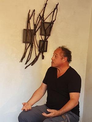 Solo atelier, Saint-Leu-la-forêt - Roman Gorski, avec le conteur Philemon