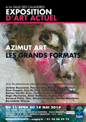 2014 - Eragny-sur-Oise, salle des calandres - Roman Gorski