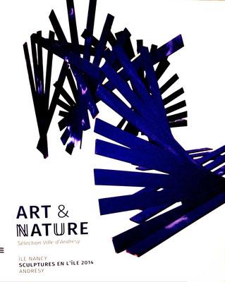 2014 –  « Sculptures en l'île »,  Andrésy, Roman Gorski