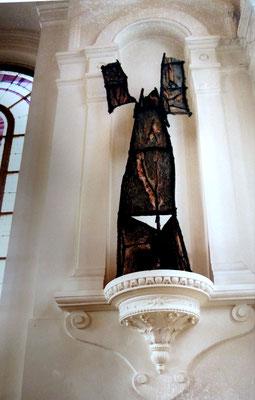 """2006 - """"Sculptures et tableaux"""" Chapelle de Cernay,  Ermont  Association l'Art en vie - roman Gorski"""