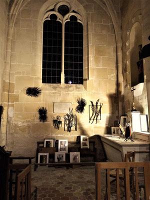 """ Petits formats ""  Eglise de Longuesse - Roman Gorski"