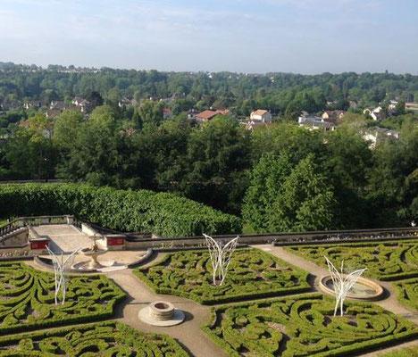 Envolée - Roman Gorski - Parc du château d'Auvers-sur-Oise