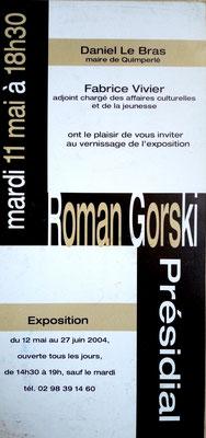 2004 - le Présidial, Quimperlé - Roman Gorski