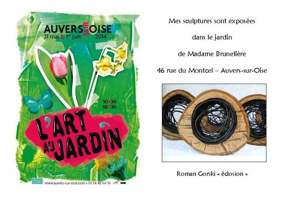 2014 - L'art au jardin, Auvers-sur-Oise - Roman Gorski