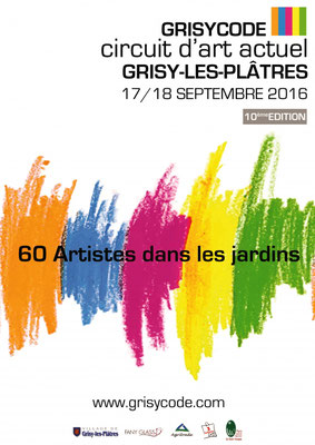 "2016 - ""Grisy code"", Grisy-les-plâtres - Roman Gorski"
