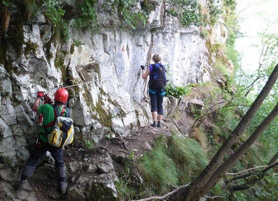 Pittentaler Klettersteig : Ferr. sasse a b am ledrosee klettersteig veitschs jimdo page!