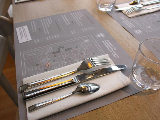 Création graphique - illustration - Communication Restaurant Monument Café - Agence Image Point Com