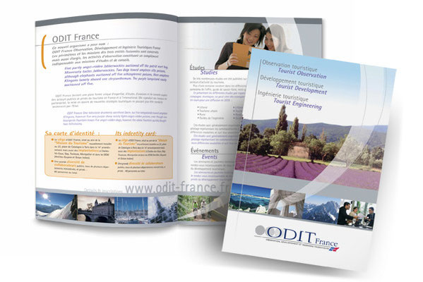 Création de la charte graphique Odit France - Ministère du Tourisme