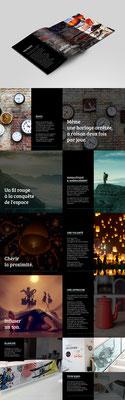 Création graphique du Brand Book agence Image Point Com