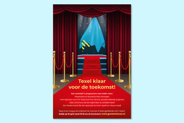 VVV Texel advertentie nieuwe huisstijl