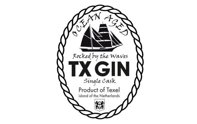 TX Gin label