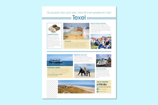 VVV Texel advertentie Vriendin