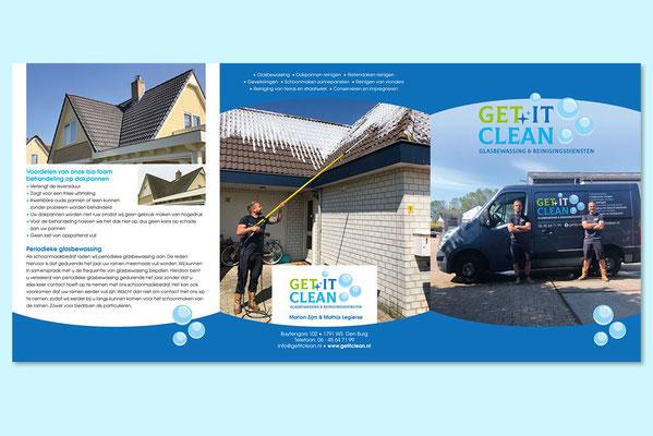 Get It Clean folder (buitenzijde)