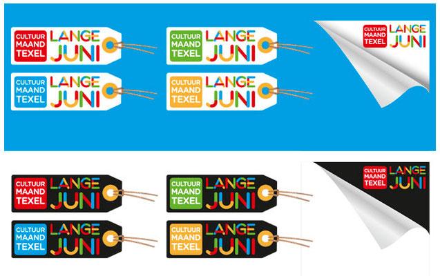 Lange Juni logo's