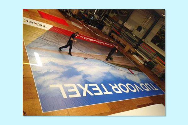 VVV Texel billboard (net geprint)