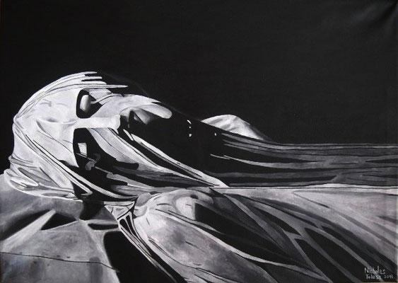 Dormi - acrilico su tela - 70 x 50 cm - 2015 - disponibile