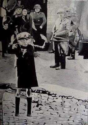 Innocenza - acrilico su tela - 35 x 50 cm - 2007 - non disponibile - note: pubblicato nel catalogo della Biennale Internazionale di Firenze 2009