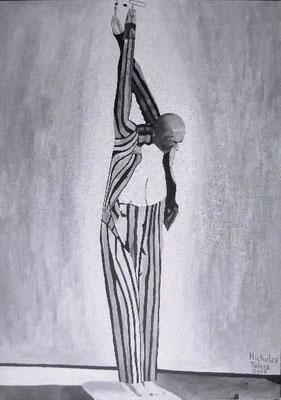 Ultimo istante - acrilico su tela - 50 x 70 cm - 2009 - disponibile