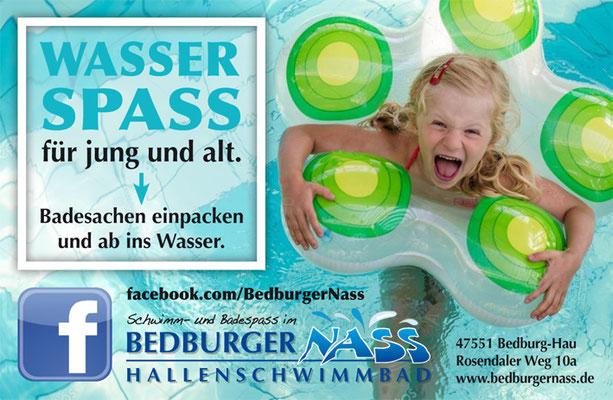 "Imageanzeige des Hallenschwimmbades ""BedburgerNass"""
