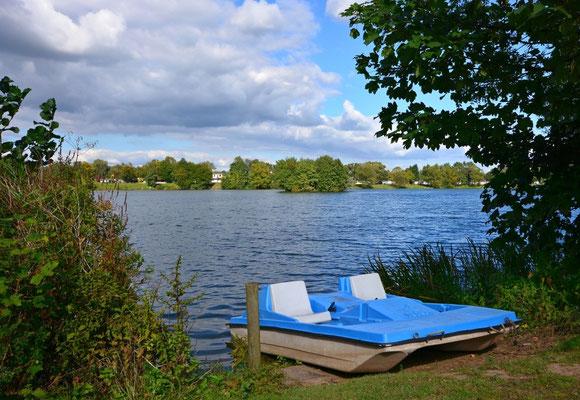 Ruhig iwird es im Herbst am Wißmarer See
