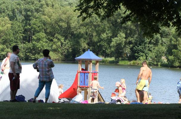 Spaß für Groß und Klein am Wißmarer See