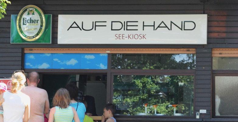 """Am See-Kiosk gibts was """"Auf die Hand"""""""