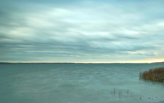 1. Versuch einer Langzeitbelichtung in Verchen am Kummerower See - das will ich aber noch weiter üben, üben, üben