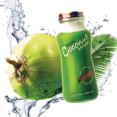 Taste Nirvana Real Coconut Water erhältlich bei Huber Getränkehandlung AG