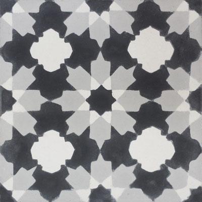 Cimenterie de la Tour, Zementfliese_Dekor: 1290, 20x20 / 1,7 cm