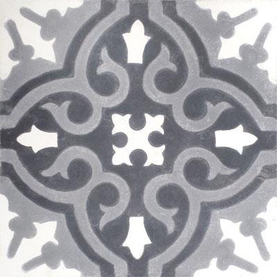 Cimenterie de la Tour, Zementfliese_Dekor: M0087, 20x20 / 1,7 cm