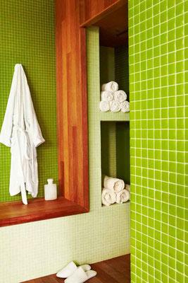 Glasmosaik, verde CHROMA Quadrat 2,5x2,5 cm