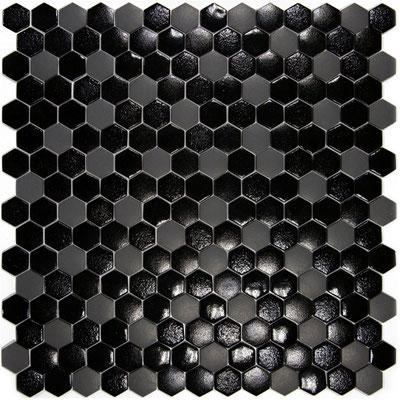 LUNA Texturas, Format: Hexagon 2,5 cm