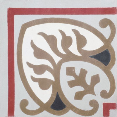 Cimenterie de la Tour, Zementfliese_Ecke: PORTO FINO B153C, 20x20 / 1,7 cm