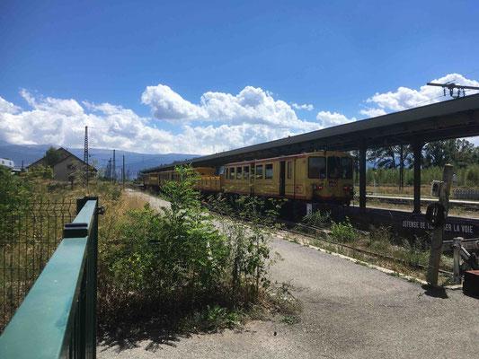 Le fameux ''Petit train jaune''