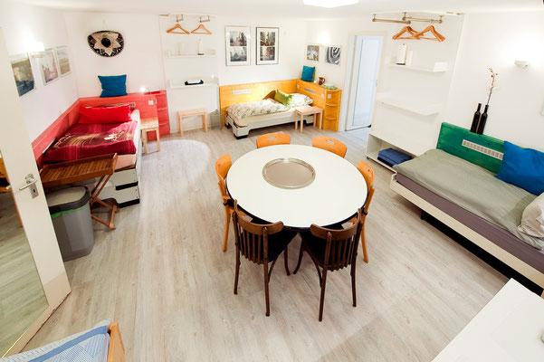 Raum 1 mit 4 Betten