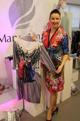 Noch eine neue Firma mit vielen bunten aufregenden Kleider: Manou Lenz.