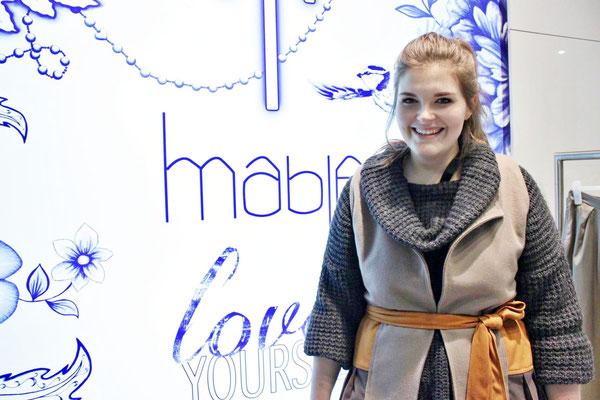 Katja Heidrich aus München ist erst seit wenigen Monaten mit ihrem Label 'Mable' am Markt.