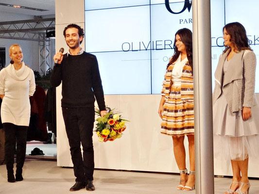 Curvy Young Designer ist Olivier Wartowski aus Paris! Als Preis gewann der symphatische Franzose ein Kollektions-Shooting für sein Label 'Olivier Wartowski'.