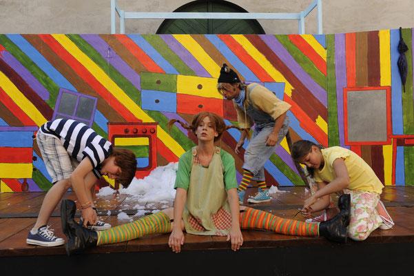 Pippi Langstrumpf - Festspiele Wangen © Morlok (Regie Anatol Preissler)