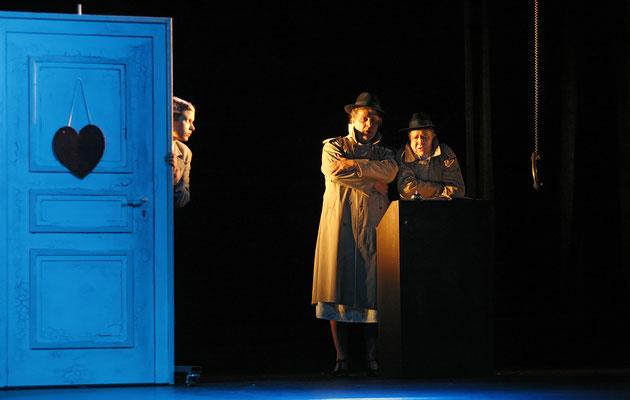 Die 39 Stufen - Stadttheater Hof (Regie Anatol Preissler)