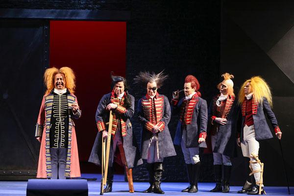 Der Bettelstudent - Volksoper Wien © Barbara Pàlffy (Regie Anatol Preissler)