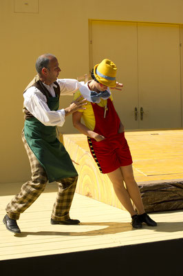 Pinocchio - Festspiele Wangen © Morlok (Regie Anatol Preissler)