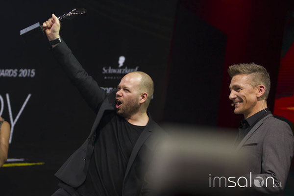 WE ARE HAIRDRESSER OF THE YEAR 2015