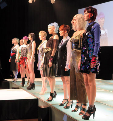 "Models mit der Collection ""THE CLASH"" 2016 - by Lepschi&Lepschi Creativeteam"