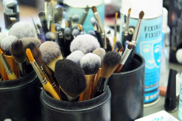 ... auch die perfekte Make-Up Ausstattung darf nicht fehlen!