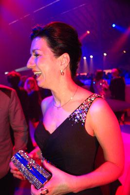 auch Sonja Knautz (Geschäftsführerin, Schwarzkopf Professional Österreich) haben wir vor der Show getroffen!