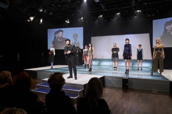 Alexander Lepschi amtierender Hairdresser of the Year eröffnet die Show