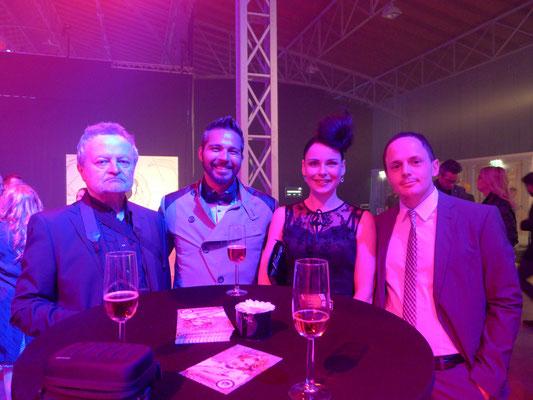 Wolfgang Lepschi, Paul Koller, Claudia Anzinger und Stefan Kaisinger