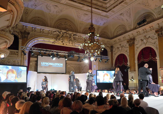 HAIR IS YOUR LIFE mit LEPSCHI&LEPSCHI Hairdressing LIVE on STAGE